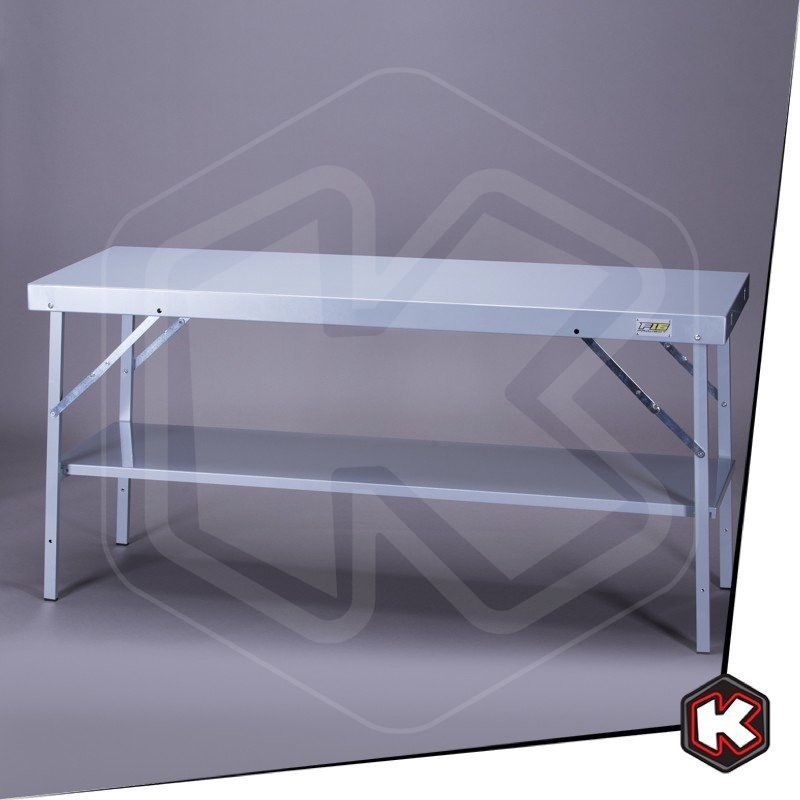 Tavoli Da Lavoro Pieghevoli.Banco Da Lavoro Pieghevole In Alluminio F16 L 167cm