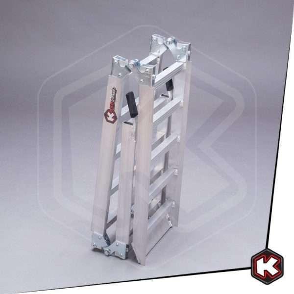 Rampa Pieghevole in alluminio.