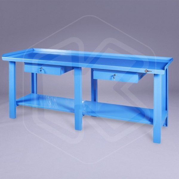 Tavolo da lavoro in metallo