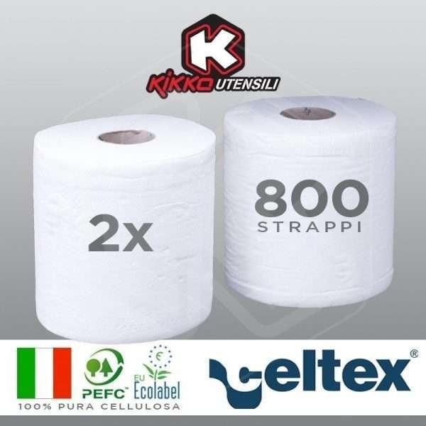 Coppia Bobine di carta asciugamani