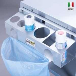 Porta Bombolette in Alluminio per Tavolo