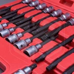 Set bussole con inserto ZXN, 26 pezzi