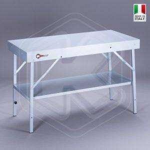 Tavolo Pieghevole in Alluminio 123cm