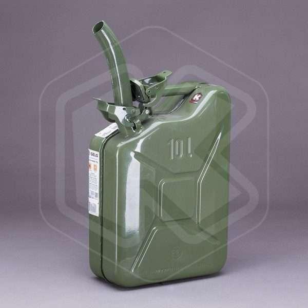 Becco per tanica in metallo
