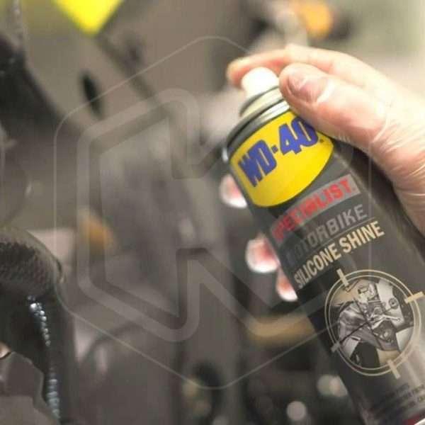Lucidante al silicone Moto 400ml - WD40