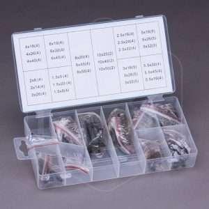 Set Spine elastiche Fervi - 120 pezzi