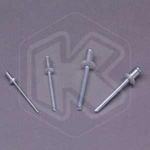 Set Rivetti in alluminio Fervi - 225 pezzi