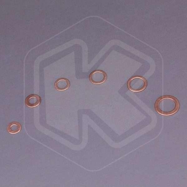 Set Rondelle di rame Fervi - 110 pezzi