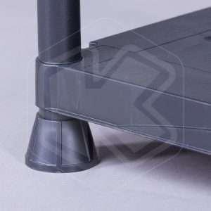 Scaffale in plastica con 4 ripiani Terry - 3060/4