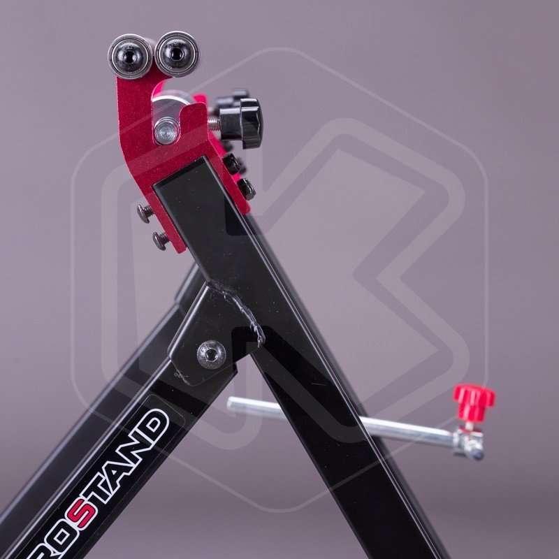 Equilibratrice Ruote per Moto in Alluminio Ferro Equilibratrice Ruota Moto a Dispositivo di Bilanciamento per Le Ruote 40,7 x 22,2 x 51,5 cm Schwarz